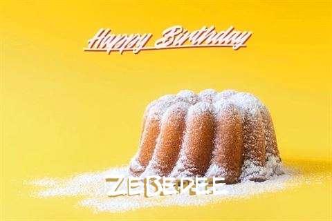 Zebedee Birthday Celebration