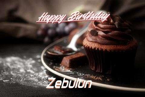 Happy Birthday Cake for Zebulun