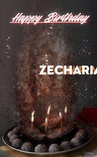 Happy Birthday Zechariah