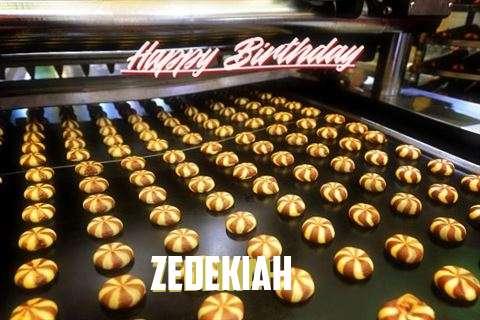 Happy Birthday Zedekiah