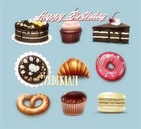 Zedekiah Birthday Celebration