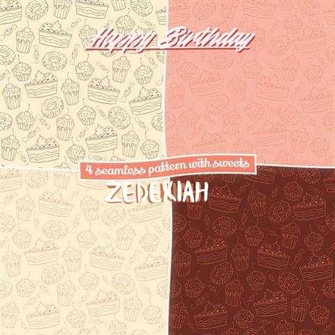 Happy Birthday to You Zedekiah