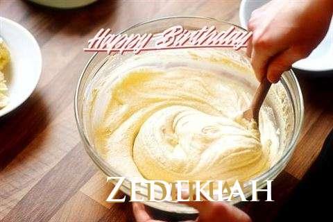 Zedekiah Cakes