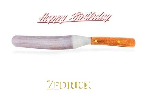 Birthday Wishes with Images of Zedrick