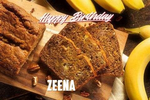 Happy Birthday Wishes for Zeena