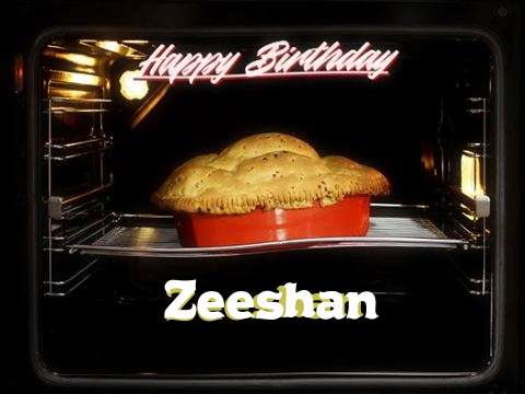 Happy Birthday Cake for Zeeshan