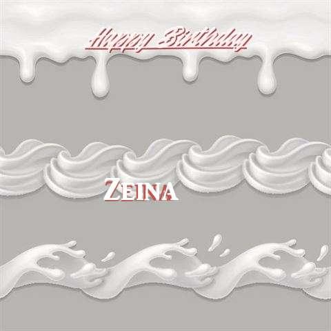 Happy Birthday to You Zeina