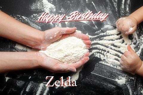 Happy Birthday Zelda Cake Image