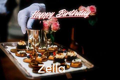 Happy Birthday Wishes for Zella