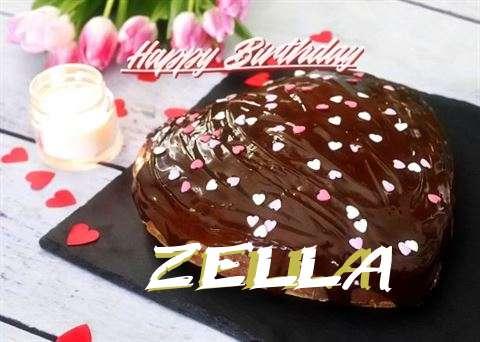 Happy Birthday Cake for Zella