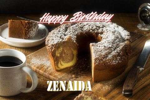 Happy Birthday to You Zenaida