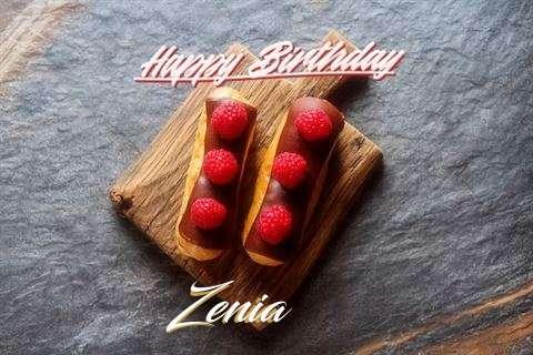 Happy Birthday to You Zenia