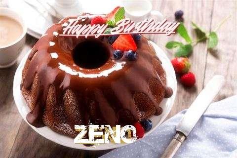 Happy Birthday Zeno Cake Image