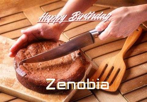 Happy Birthday Zenobia Cake Image