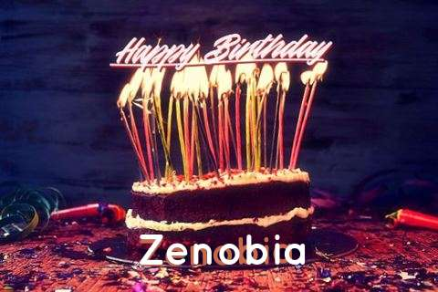 Happy Birthday to You Zenobia