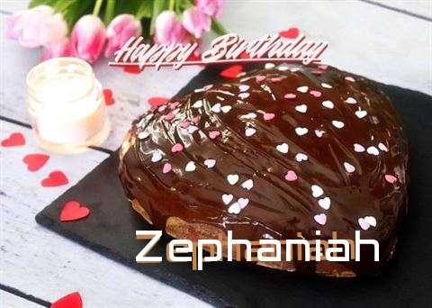 Happy Birthday Cake for Zephaniah