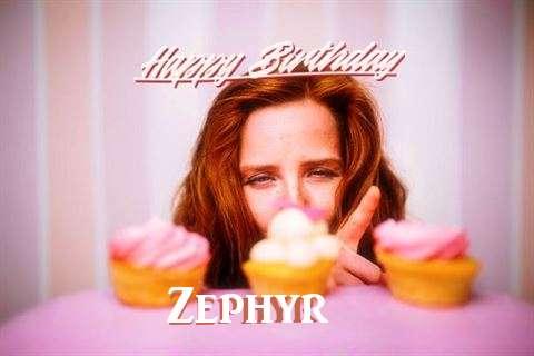 Happy Birthday Wishes for Zephyr