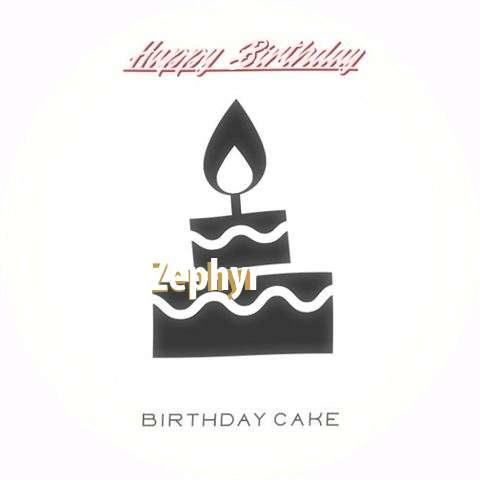 Happy Birthday to You Zephyr