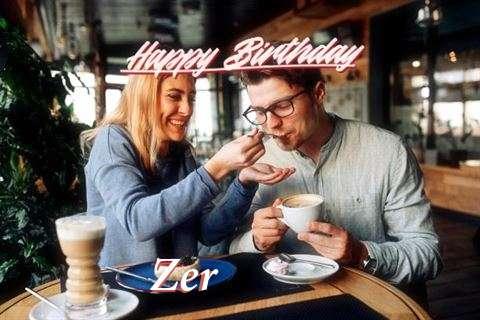 Happy Birthday Zer Cake Image