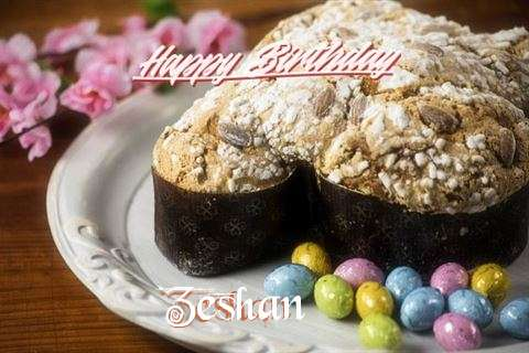 Happy Birthday Wishes for Zeshan