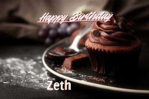 Happy Birthday Wishes for Zeth
