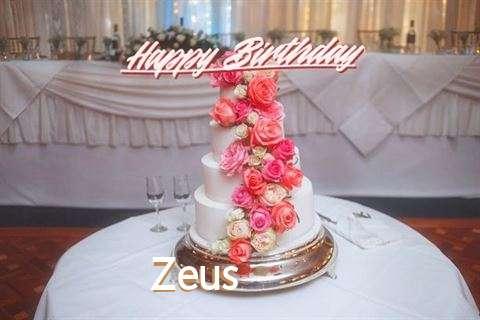 Birthday Images for Zeus