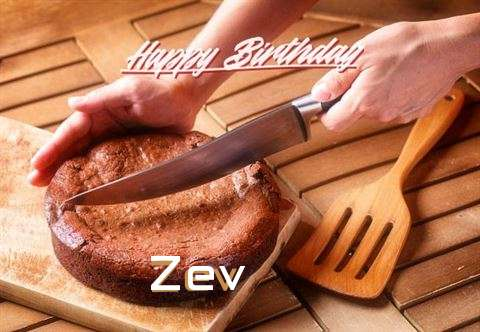 Happy Birthday Zev Cake Image