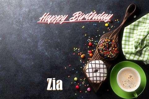 Happy Birthday Wishes for Zia