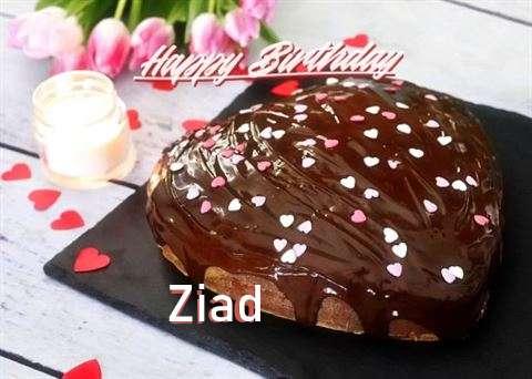 Happy Birthday Cake for Ziad