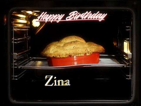 Happy Birthday Wishes for Zina