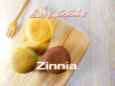 Happy Birthday Zinnia