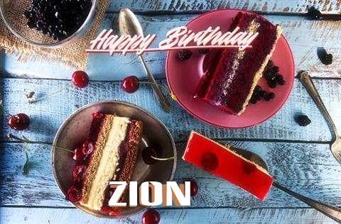 Zion Birthday Celebration