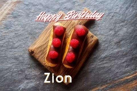 Happy Birthday to You Zion