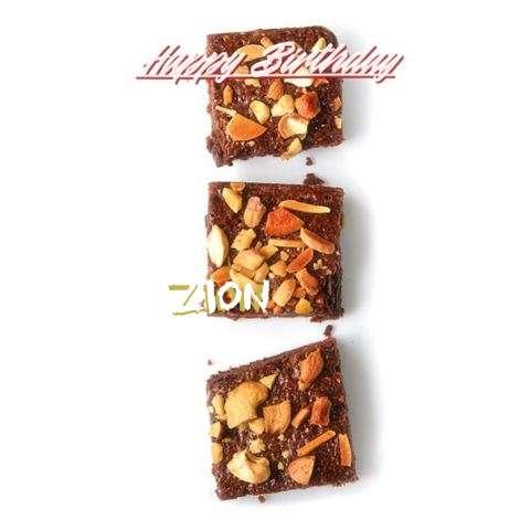 Happy Birthday Cake for Zion