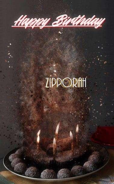 Happy Birthday Cake for Zipporah