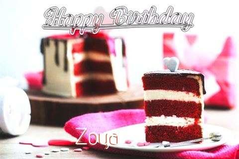 Happy Birthday Wishes for Zoya