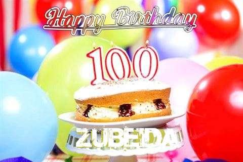 Happy Birthday Zubeida