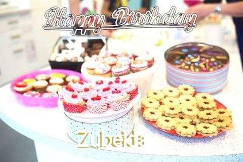 Birthday Wishes with Images of Zubeida